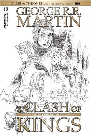 George R. R. Martin's a Clash of Kings 12-D
