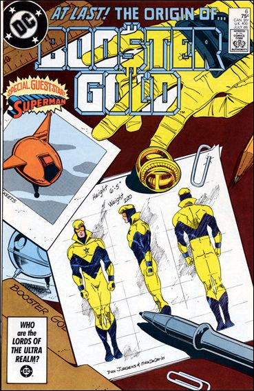 Booster Gold (1986) 6-A by DC