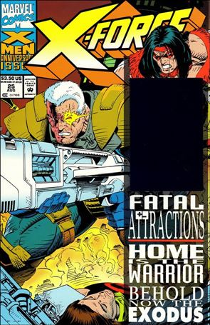 X-Force (1991) 25-A