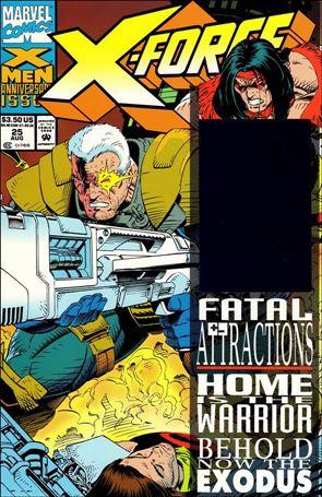 X-Force (1991) 25-A