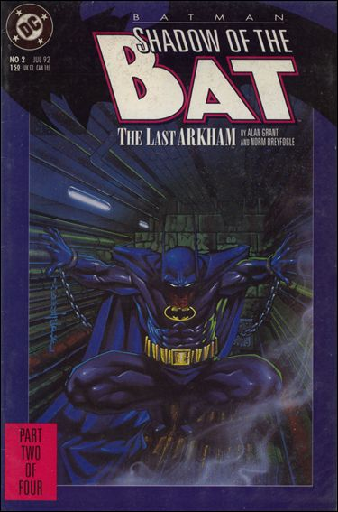 Batman: Shadow of the Bat 2-A by DC