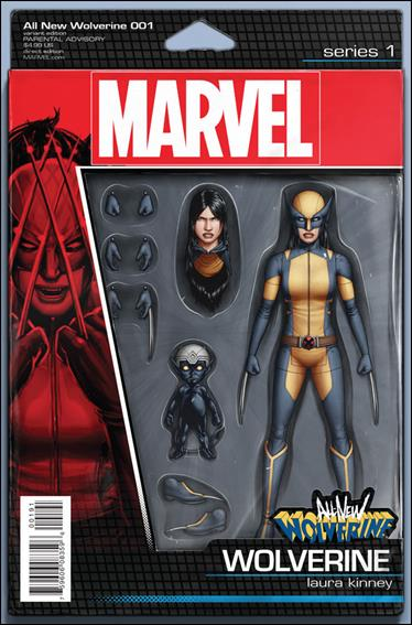 All-New Wolverine  1-F by Marvel