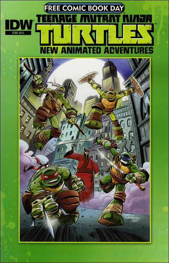 Teenage Mutant Ninja Turtles New Animated Adventures Free Comic Book Day  nn-A by IDW