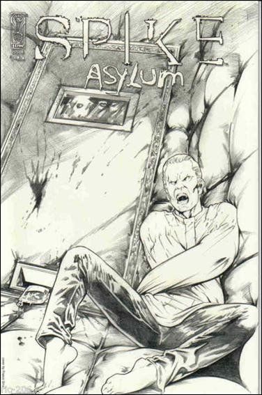 Spike: Asylum 1-C by IDW