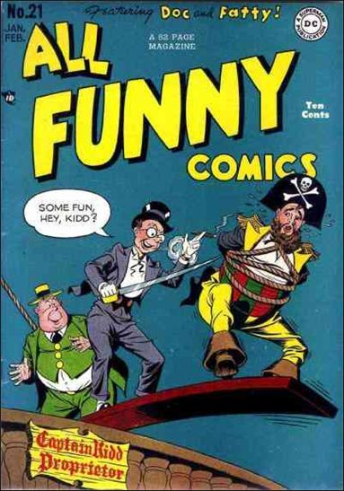 All Funny Comics 21-A by DC