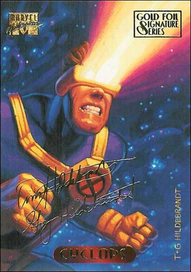 1994 Marvel Masterpieces (Gold-Foil Signature Parallel Base Set) 25-A by Fleer
