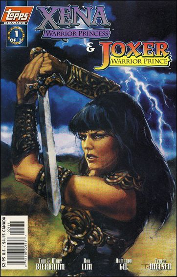 Xena: Warrior Princess/Joxer: Warrior Prince 1-B by Topps