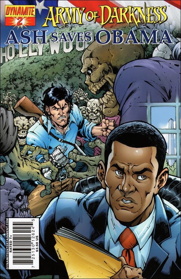 Army of Darkness: Ash Saves Obama 2-A by Dynamite Entertainment