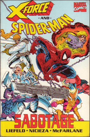X-Force and Spider-Man: Sabotage nn-A by Marvel