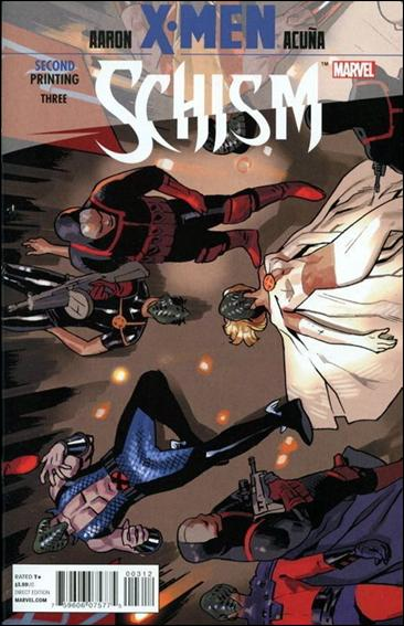 X-Men: Schism 3-C by Marvel