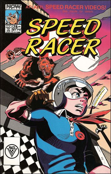 Speed Racer (1987) 28-A by Now Comics