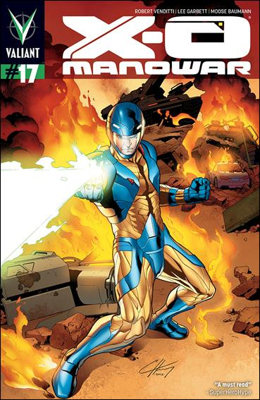 X-O Manowar (2012)  17-B by Valiant Entertainment