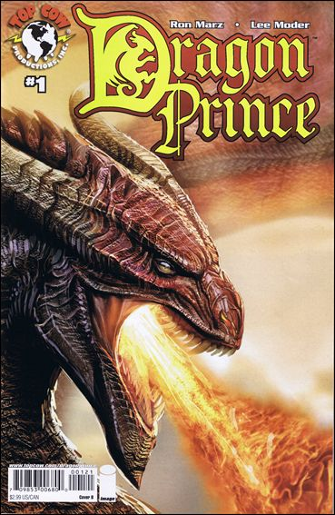 Dragon Prince 1-A by Top Cow