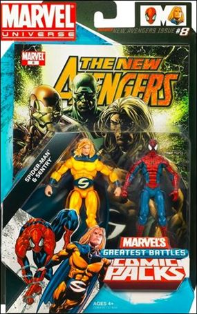 Marvel Universe: Marvel's Greatest Battles (Comic-Packs) Spider-Man and Sentry