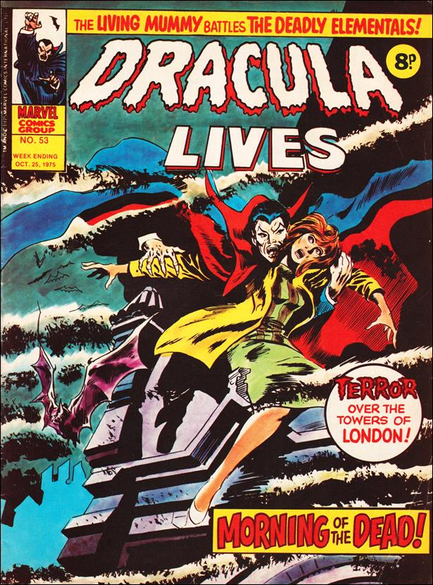 Dracula Lives (UK) 53-A by Marvel UK