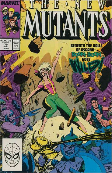 New Mutants (1983) 79-A by Marvel