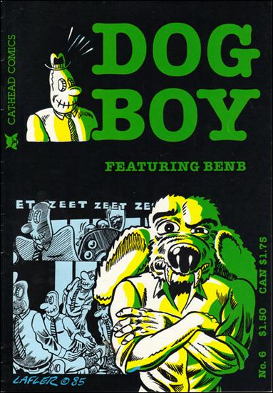 Dog Boy (1983) 6-A by Cat-Head Comics