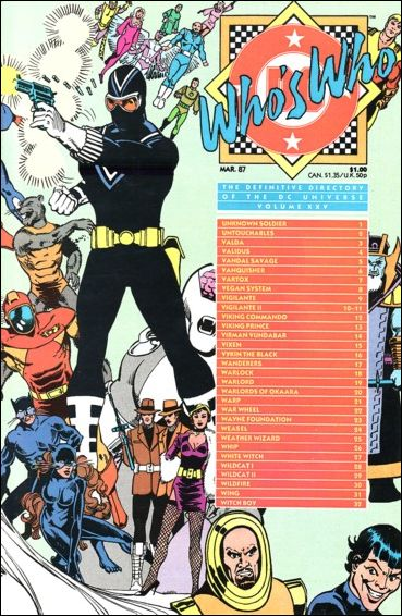 Who's Who: The Definitive Directory of the DC Universe 25-A by DC