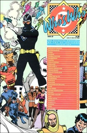 Who's Who: The Definitive Directory of the DC Universe 25-A