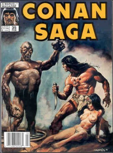Conan Saga 35-A by Marvel