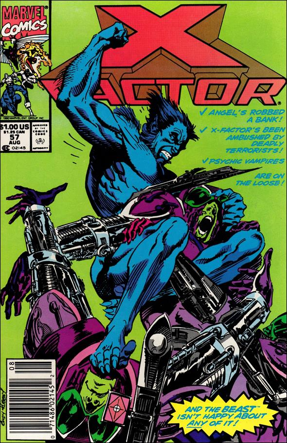 X-Factor (1986) 57-A by Marvel