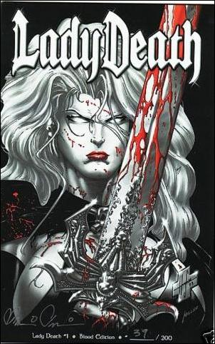 Lady Death (1994) 1-D by Chaos