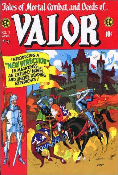 Valor (1955) 1-A by E.C.