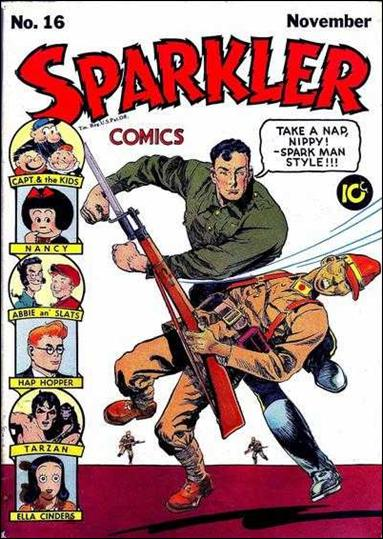 Sparkler Comics (1941) 16-A by United Features Syndicate