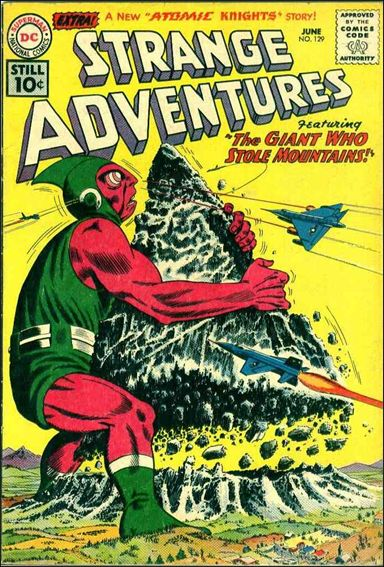 Strange Adventures (1950) 129-A by DC
