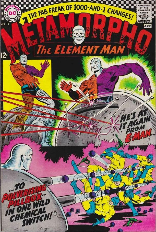 Metamorpho (1965) 11-A by DC