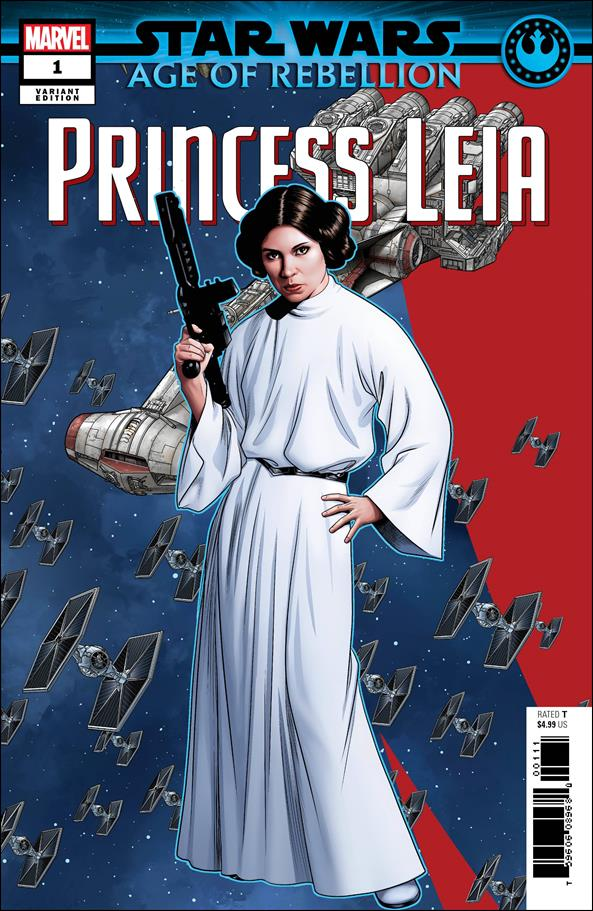 Star Wars: Age of Rebellion - Princess Leia 1-B by Marvel