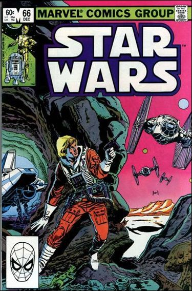 Star Wars (1977) 66-A by Marvel