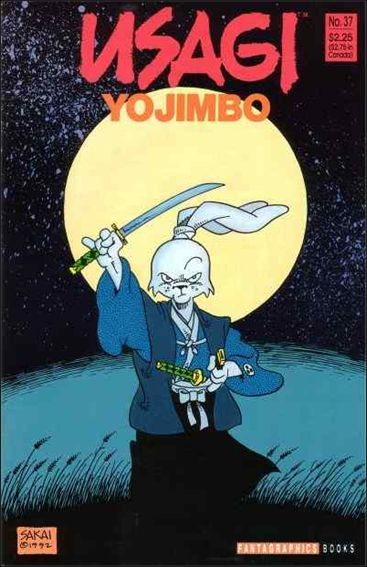 Usagi Yojimbo (1987) 37-A by Fantagraphics
