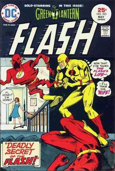 Flash (1959) 233-A by DC