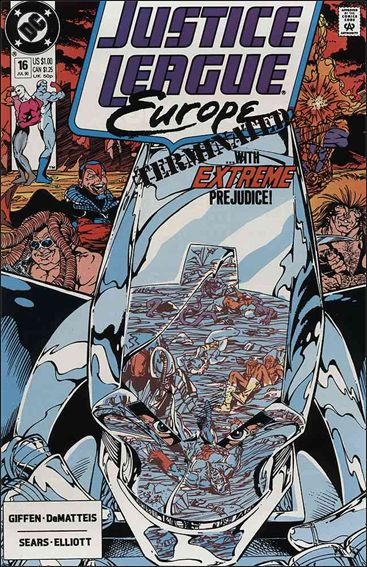 Justice League Europe 16-A by DC