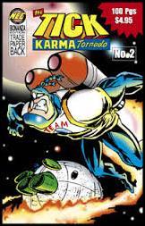 Tick Karma Tornado Bonanza Edition 2-A by New England Comics Press (NEC / NECP)