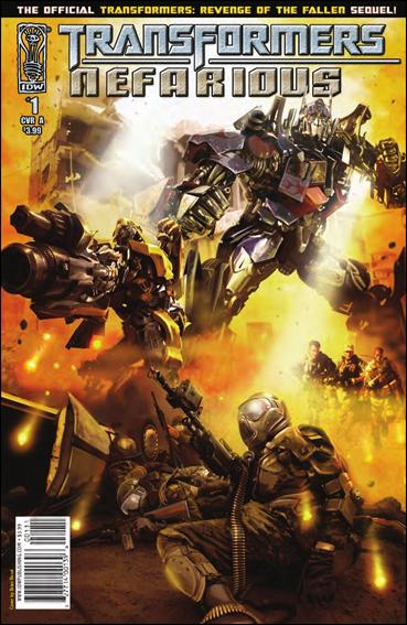 Transformers: Nefarious 1-A by IDW