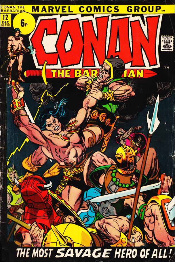 Conan the Barbarian (1970) 12-B by Marvel