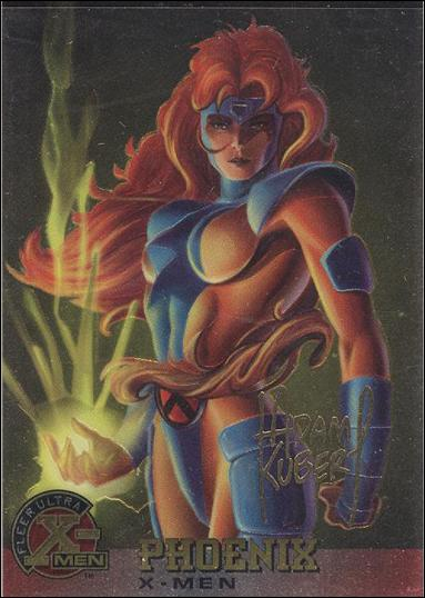 1995 Fleer Ultra X-Men All Chromium (Gold Signature Parallel Base Set) 8-A by Fleer