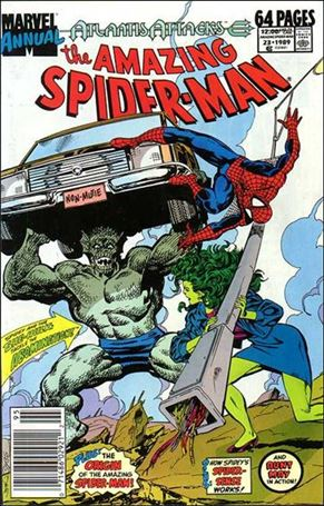 Amazing Spider-Man Annual 23-A