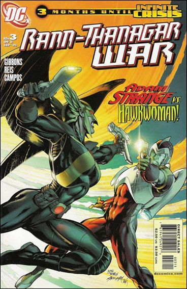 Rann/Thanagar War 3-A by DC