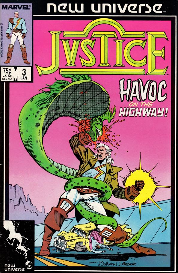 Justice (1986) 3-A by Marvel