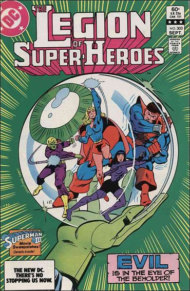 Legion of Super-Heroes (1980) 303-A by DC