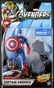 Avengers Studio Series Captain America by Hasbro