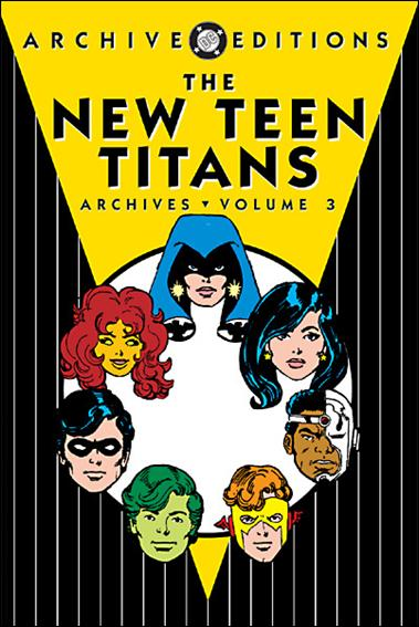 New Teen Titans Archives 3-A by DC