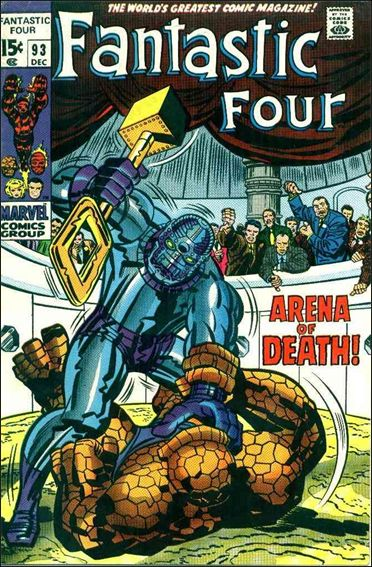 Fantastic Four (1961) 93-A by Marvel