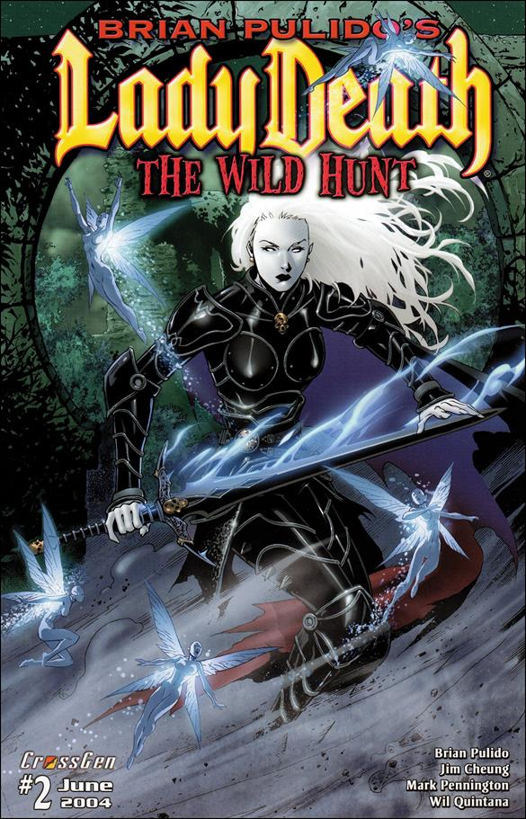 Brian Pulido's Lady Death: The Wild Hunt 2-A by CrossGen