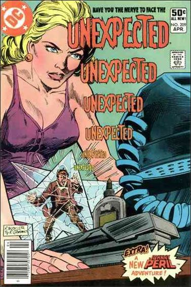 Unexpected (1968) 209-A by DC