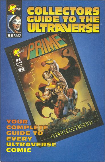 Collectors Guide to the Ultraverse 1-A by Malibu
