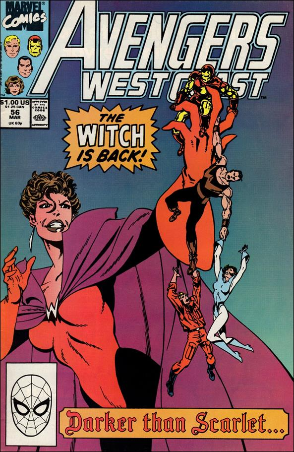 Avengers West Coast 56-A by Marvel
